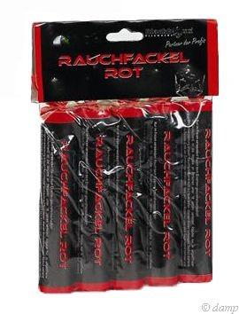 Feuerwerk Hannover - Blackboxx Rauchfackel  Rot