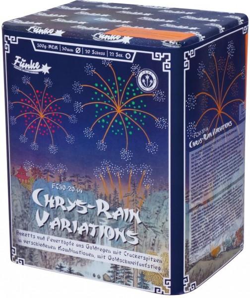 Feuerwerk Hannover - Funke Chrys Rain Variations