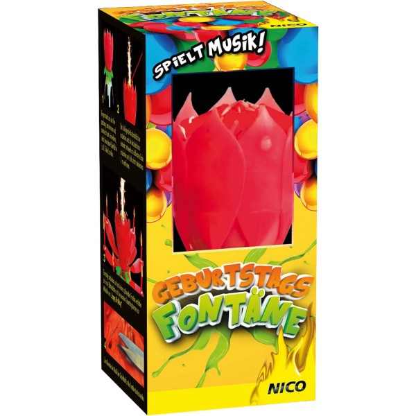 Feuerwerk Hannover - NICO Geburtstags Fontäne