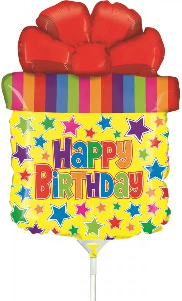 Ballons Hannover - Geburtstagsgeschenk Folienballon mit Stab