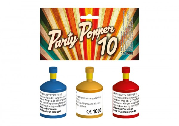 Feuerwerk Hannover - Xplode Party Popper