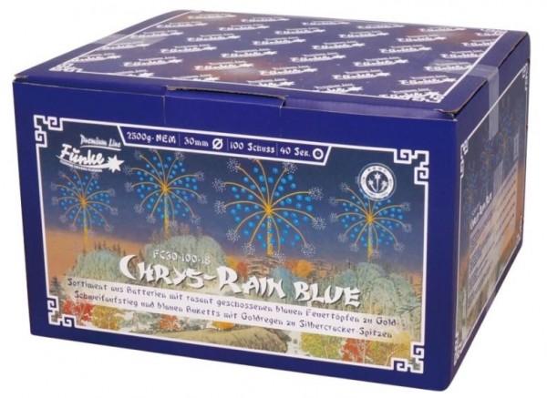 Feuerwerk Hannover - Funke Chrys Rain Blue