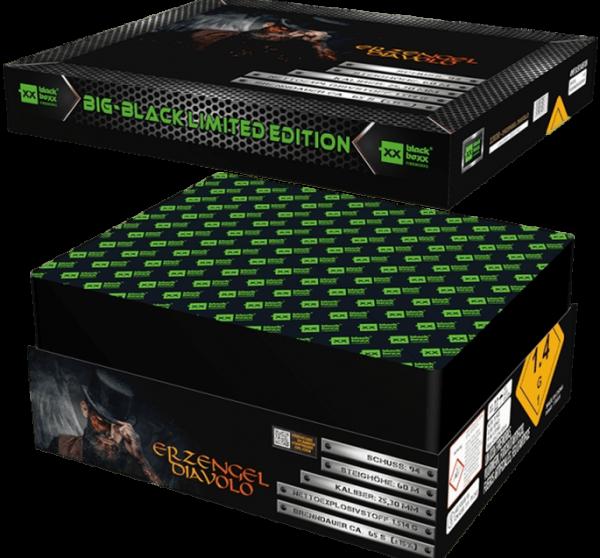 Feuerwerk Hannover - Blackboxx Erzengel Diavolo