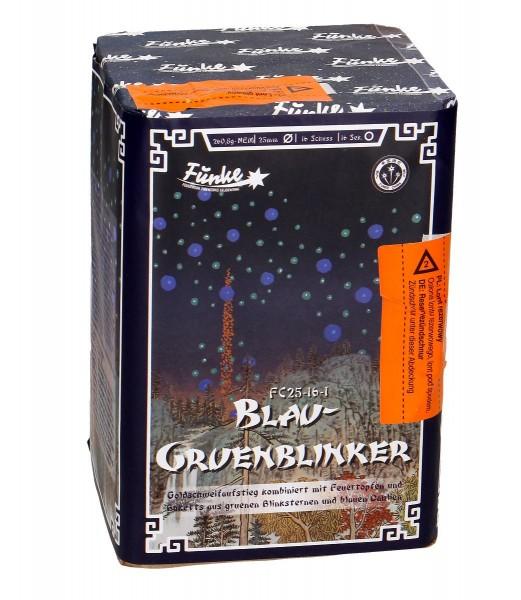 Feuerwerk Hannover - Funke Blau-Grünblinker