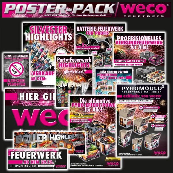 WECO Poster set