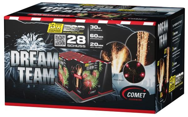 Comet Dream Team Verbund feuerwerk