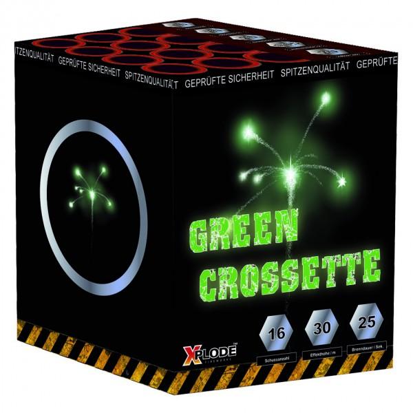 Feuerwerk Hannover - Green Crossette