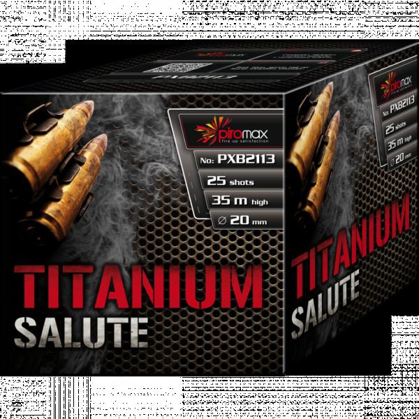 Feuerwerk Hannover - Piromax Titanium Salute