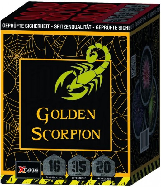 Feuerwerk Hannover - Xplode Golden Scorpion