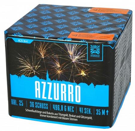 Feuerwerk Hannover - Argento Azzurro