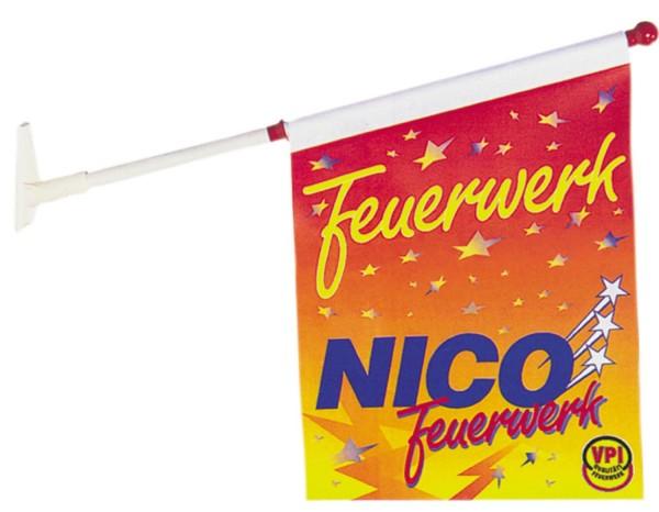 NICO Fahne Merchandise Rarität