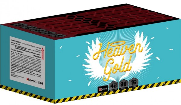 Feuerwerk Hannover - Xplode Heaven Gold