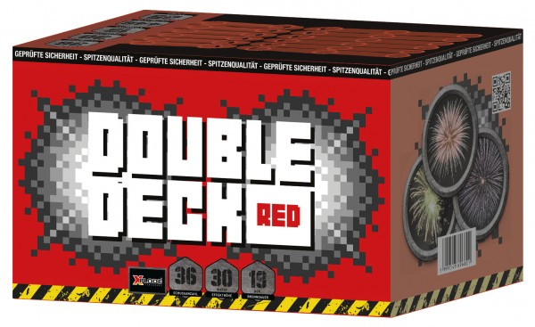 Feuerwerk Hannover - Xplode Double Deck Red