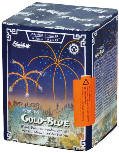 Feuerwerk Hannover - Funke Gold-Blue