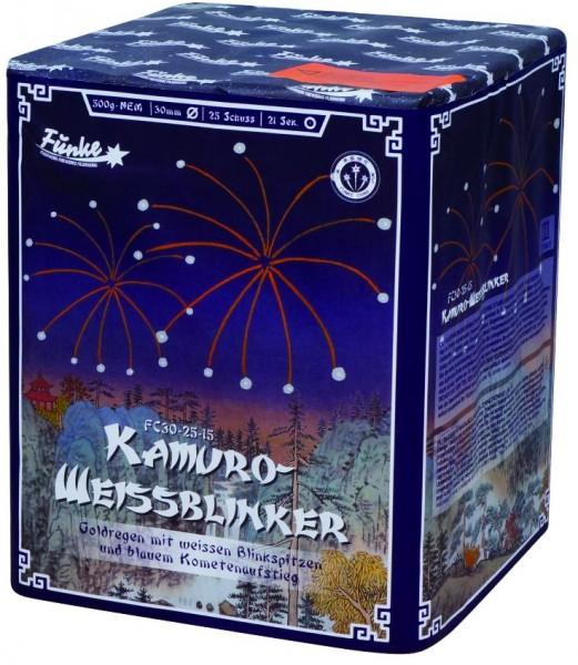 Feuerwerk Hannover - Funke Kamuro Weissblinker