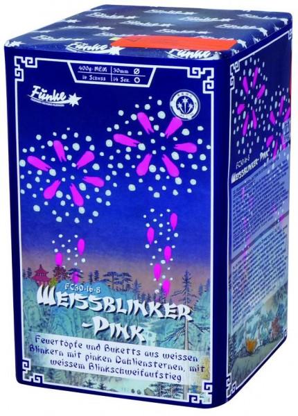 Feuerwerk Hannover - Funke Weissblinker Pink