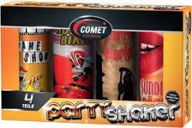 Comet Party Shaker Set