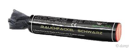 Feuerwerk Hannover - Blackboxx Rauchfackel Schwarz