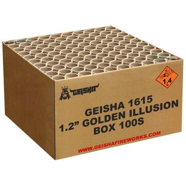 Feuerwerk Hannover - Geisha Golden Illusion