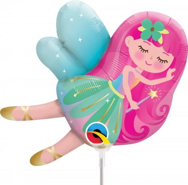 Ballons Hannover - Kleine Fee Folienballon mit Stab