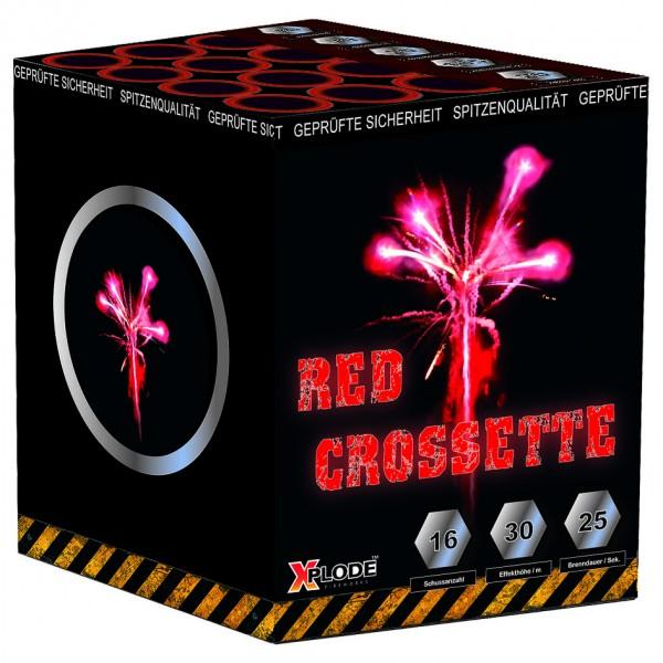 Feuerwerk Hannover - Xplode Red Crossette