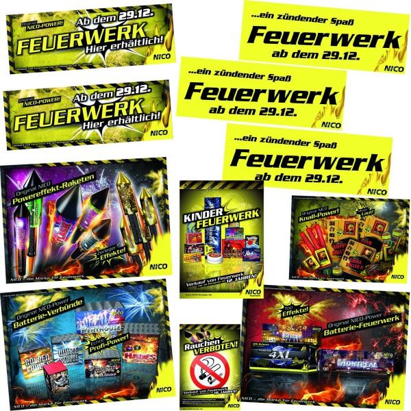 Feuerwerk Hannover - NICO Poster