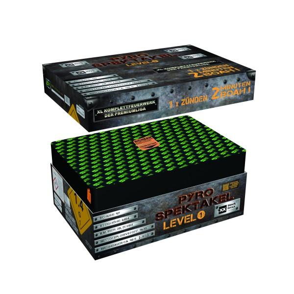 Feuerwerk Hannover - Blackboxx Pyro-Spektakel Level 1