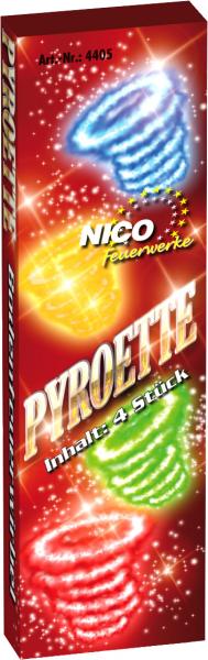 Feuerwerk Hannover - NICO Pyroette