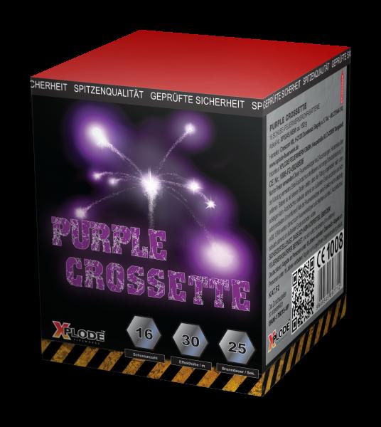 Feuerwerk Hannover - Purple Crossette