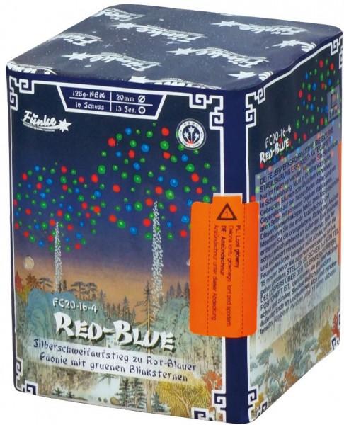 Feuerwerk Hannover - Funke Red-Blue