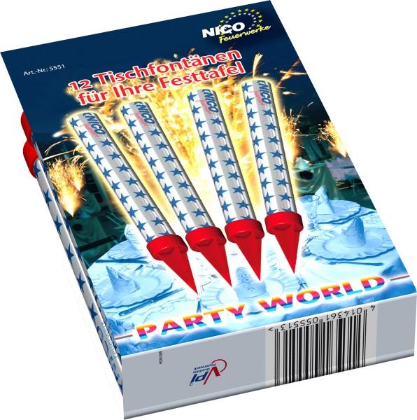 Feuerwerk Hannover - NICO Eisfontäne 12er Pack