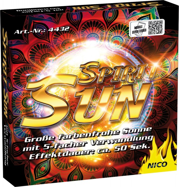 NICO Spirit Sun Multi Effekt Sonne