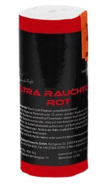 Feuerwerk Hannover - Blackboxx Ultra Rauchtopf Rot