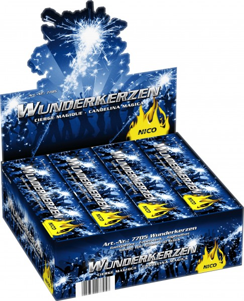 Feuerwerk Hannover - NICO Eintausend Wunderkerzen