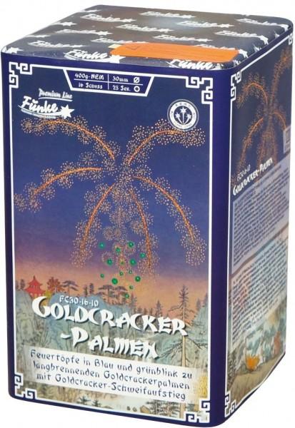 Feuerwerk Hannover - Funke Goldcracker Palmen