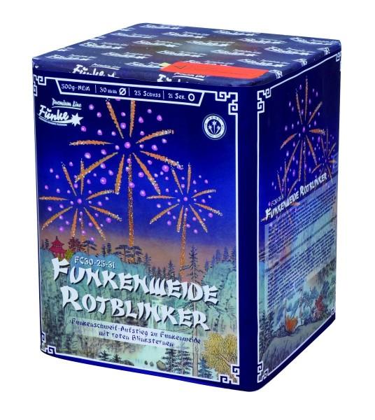 Feuerwerk Hannover - Funke Funkenweide Rotblinker