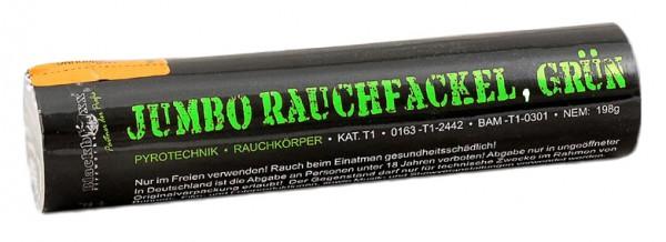 Feuerwerk Hannover - Blackboxx Jumbo Rauchfackel Grün