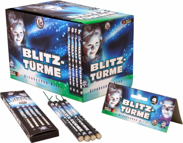 Lesli Blitz-Türme Display