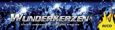 Feuerwerk Hannover - NICO Wunderkerzen