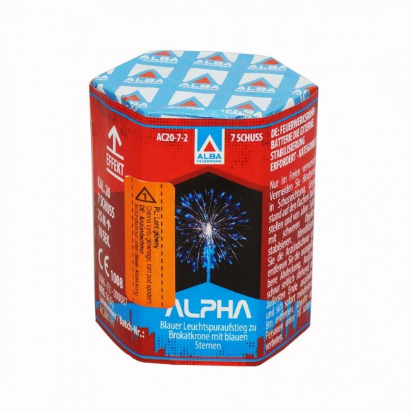 Feuerwerk Hannover - ALBA Alpha