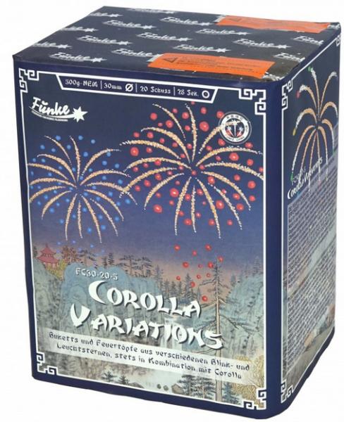 Feuerwerk Hannover - Funke Corolla Variations