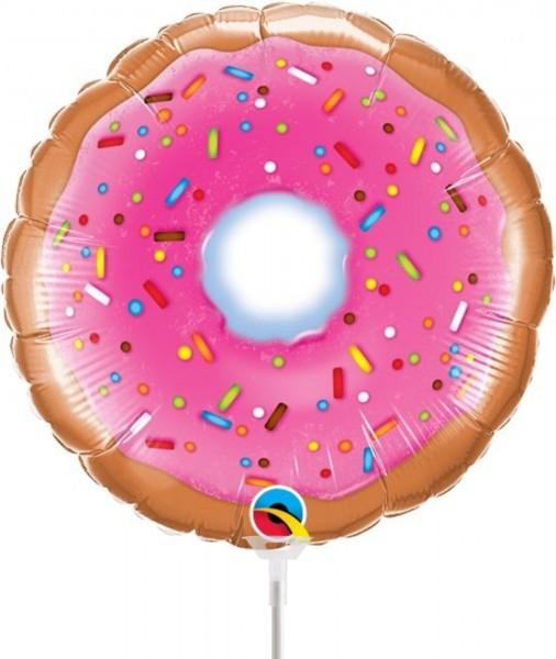 Ballons Hannover - Donut Folienballon mit Stab