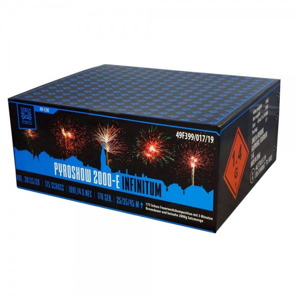 Feuerwerk Hannover - Argento Pyroshow Infinitum