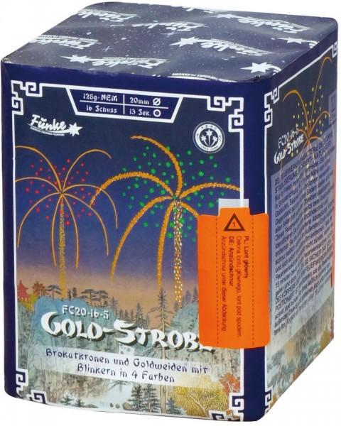 Feuerwerk Hannover - Funke Gold-Strobe