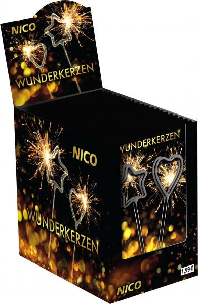 Feuerwerk Hannover - NICO Wunderkerzen-Set Herzen und Sterne