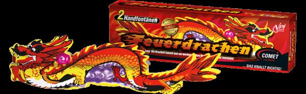 Feuerwerk Hannover - Comet Feuerdrachen