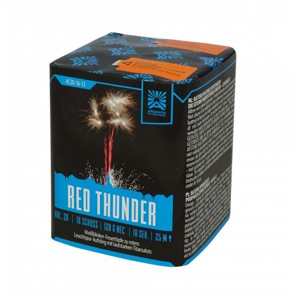 Feuerwerk Hannover - Argento Red Thunder