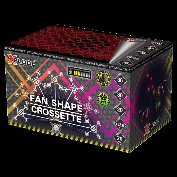 Feuerwerk Hannover - Xplode Fanshape CROSSETTE