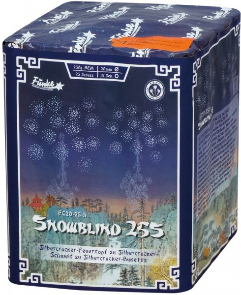 Feuerwerk Hannover - Funke Snowblind 25S