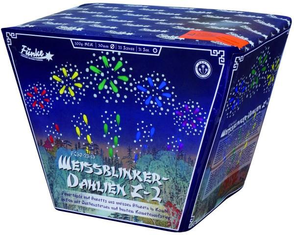 Feuerwerk Hannover - Funke Weissblinker-Dahlien Z-2